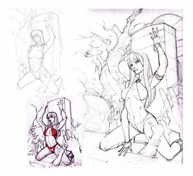Vampi roughs by Alex0wens