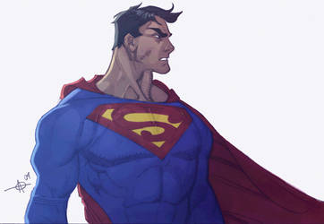 fdf superman colors by Alex0wens
