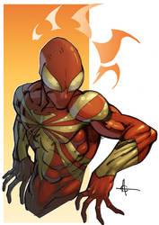 Iron Spidey commission