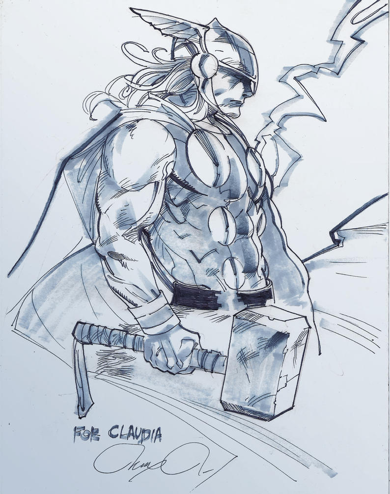 The Mighty thor by Alex0wens