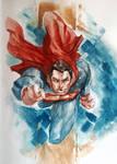 Superman WC sketch (better photo)