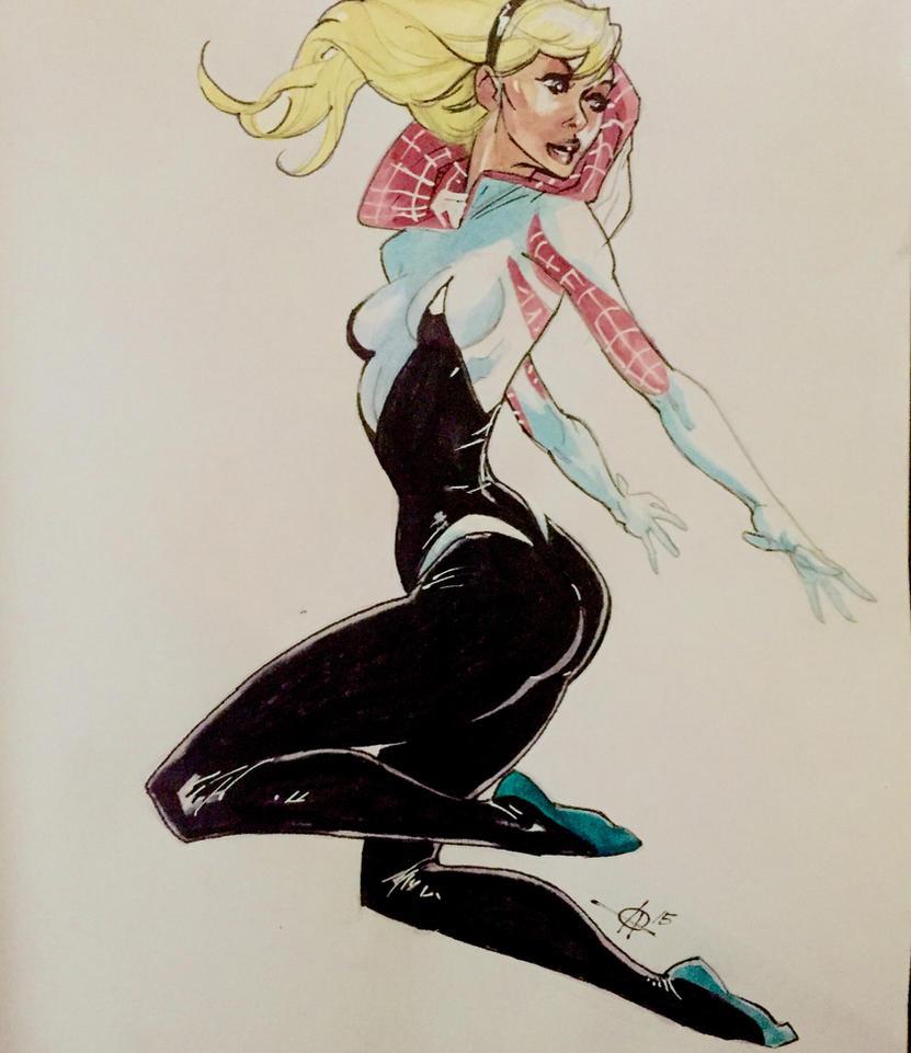 Gwen WC sketch by Alex0wens