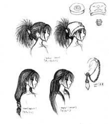 EIEN - Side Profiles (Head) by TenshiAkari12