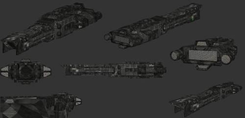 Xerxes Heavy Cruiser WIP 01 by Xvampir3