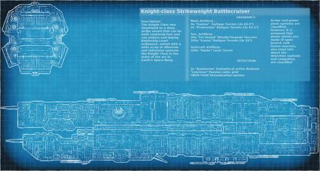 Knight Class Battlecruiser Plans by Xvampir3