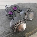 Purple Velvet, vintage lace