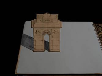 India Gate by gauravborra