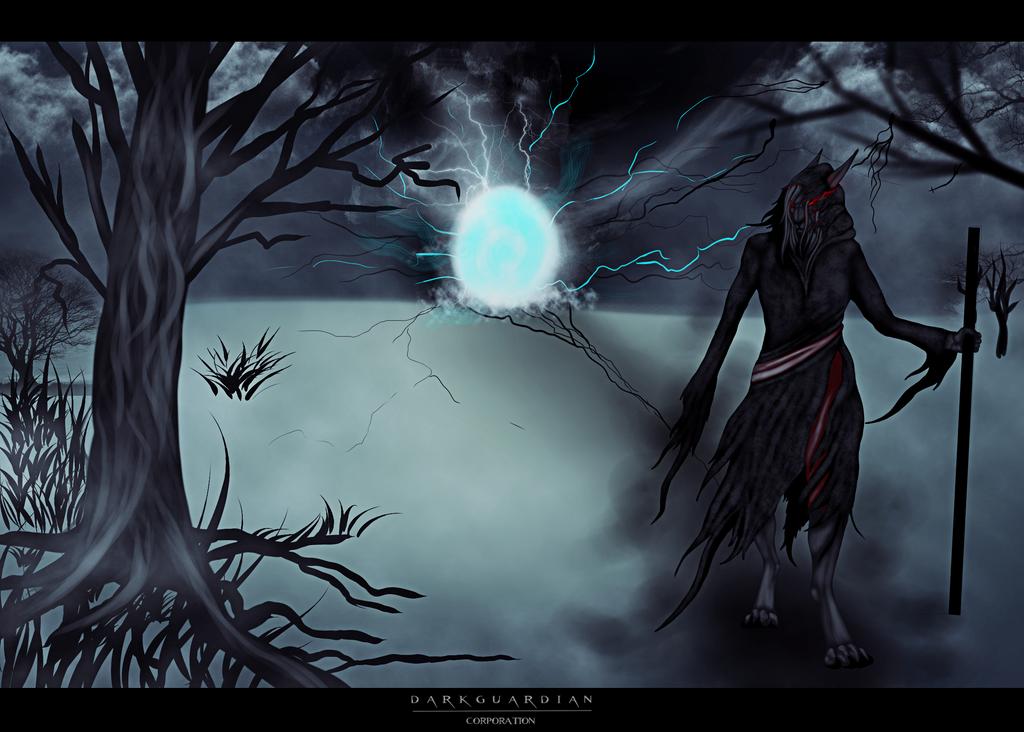 Death God by Isaak-Schwarze