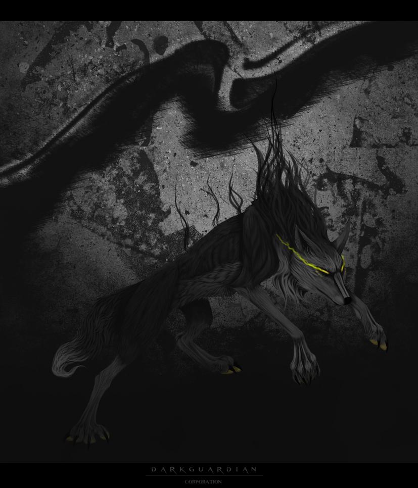 Night Wolf by Isaak-Schwarze