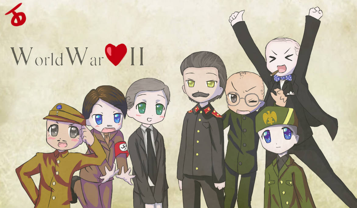 Kawaii Wwii The Truth By Thegreatlordarugi On Deviantart
