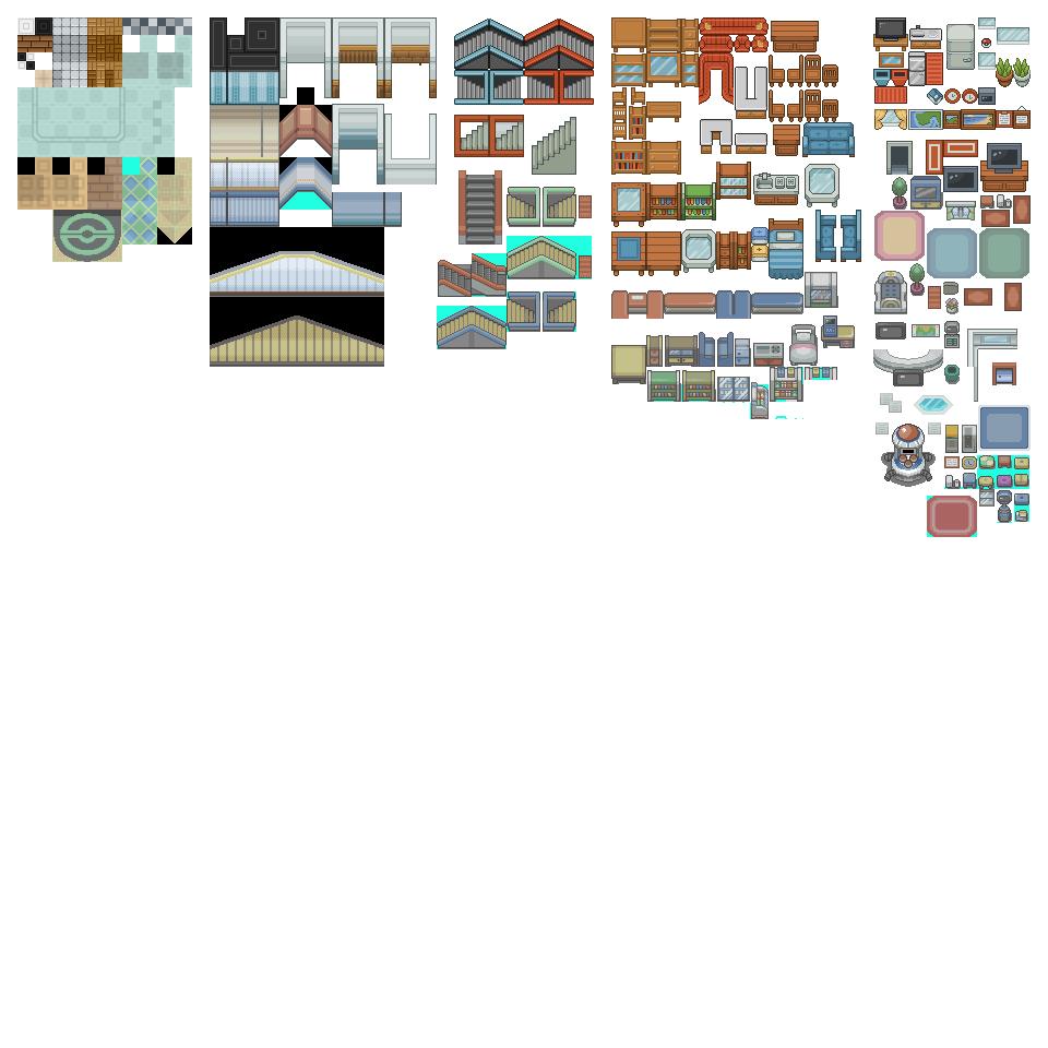 Public Indoor Tileset From Public Tiles by ChaoticCherryCake
