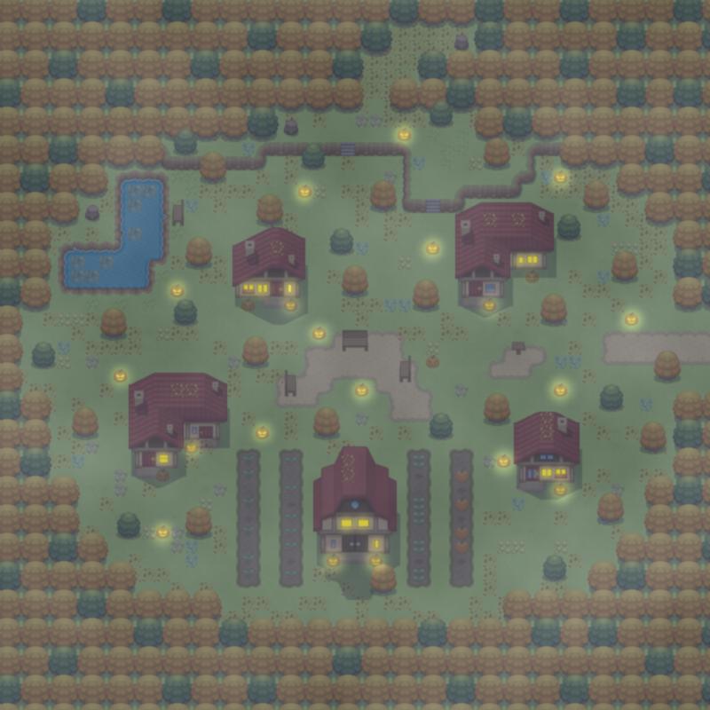 Pumpkin Village by ChaoticCherryCake