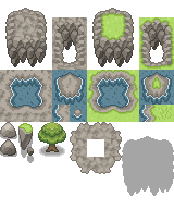 Tileset 10000 Views by ChaoticCherryCake