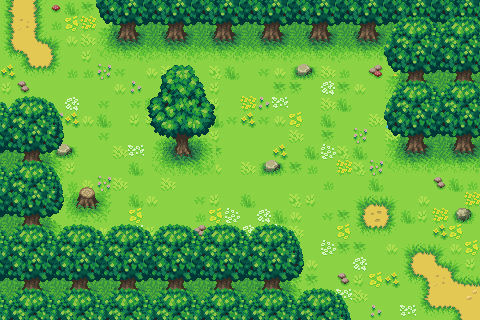 [Test] Forest Path