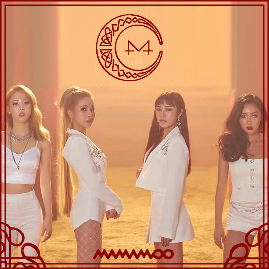 Mamamoo - Red Moon by nekochangorogoro on DeviantArt