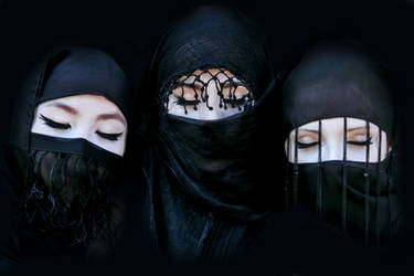 Three black princesses by xxxamylindaxxx