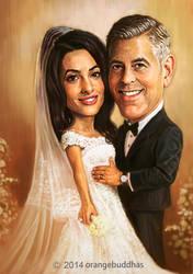 George Clooney1 by orangebuddhas