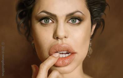 Angelina Jolie by orangebuddhas