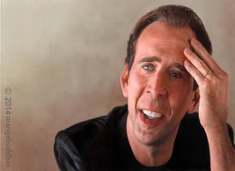 Nicolas Cage1 by orangebuddhas