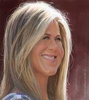 Jennifer Aniston by orangebuddhas