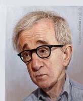 Woody Allen by orangebuddhas