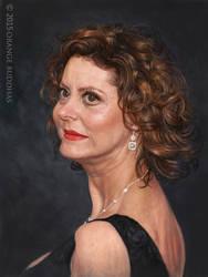 Susan Saradon1 by orangebuddhas