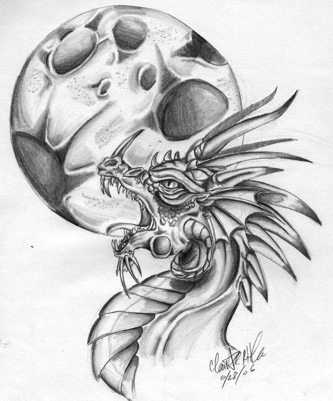 Evil Moon by SophieDragon on DeviantArt