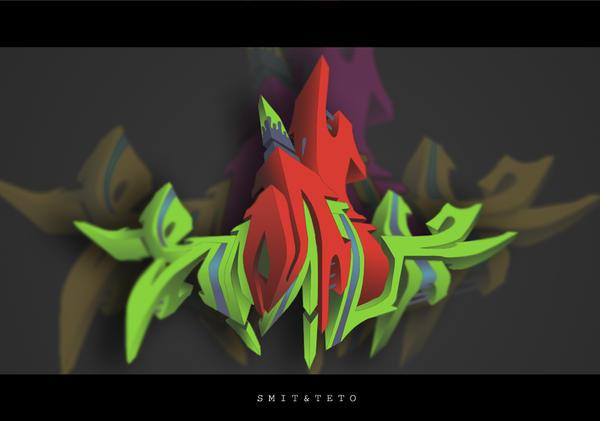 SmitTeto 3DColor by Tetino
