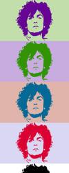Syd Barrett T-Shirt Logo by Tetino