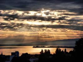 Sunrise on Constance Lake