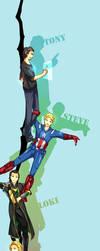 Avengers X DRRR!!ED1-Trust me by SakeySK