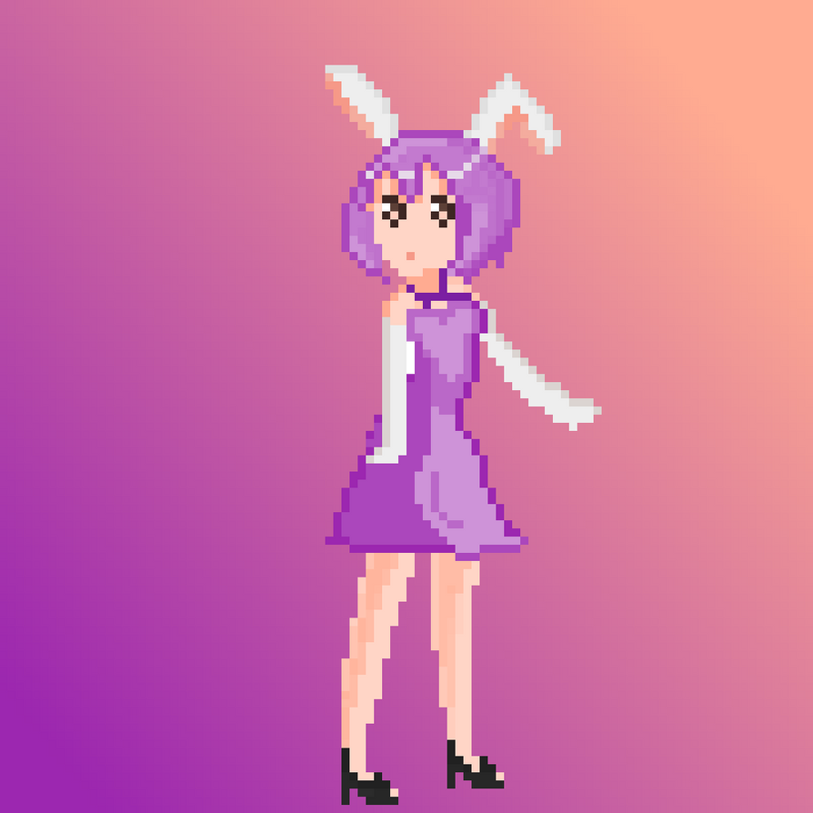 A Pixel Girl -C by gherhw1023