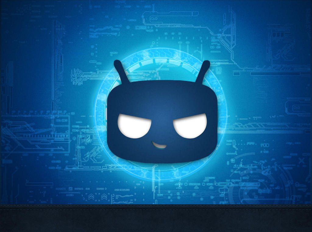 Cyanogenmod Circuit Smartphone Wallpaper By Andreas86