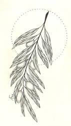 Tattoo |olive branch by Askaraya