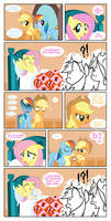 Fluttershy's Prank by Crydius