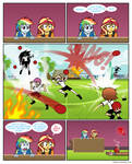 The first year's dodgeball competition page 2 by Crydius
