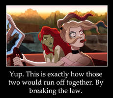Harley and Ivy eloping