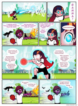 The first year's dodgeball competition page 3