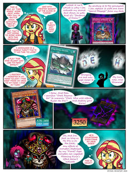 Calamitous card game page 5