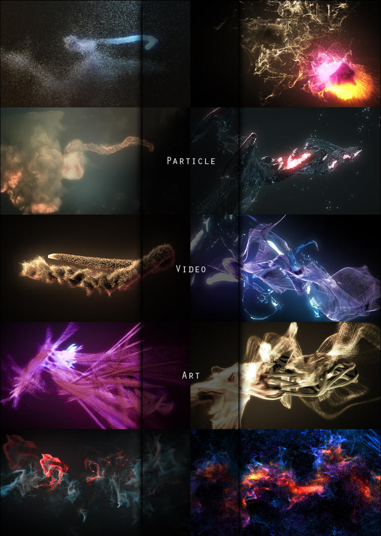 Particle Video Art by MatthiasM
