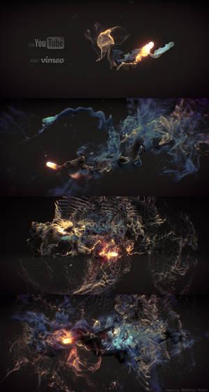 Audio visual Particles
