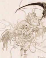 Hekate by shodou-chan