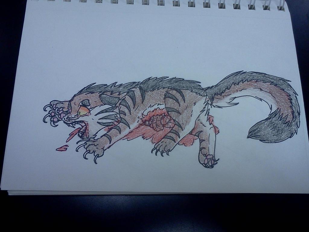 Tigerstar's Death by DarkclawTimelord