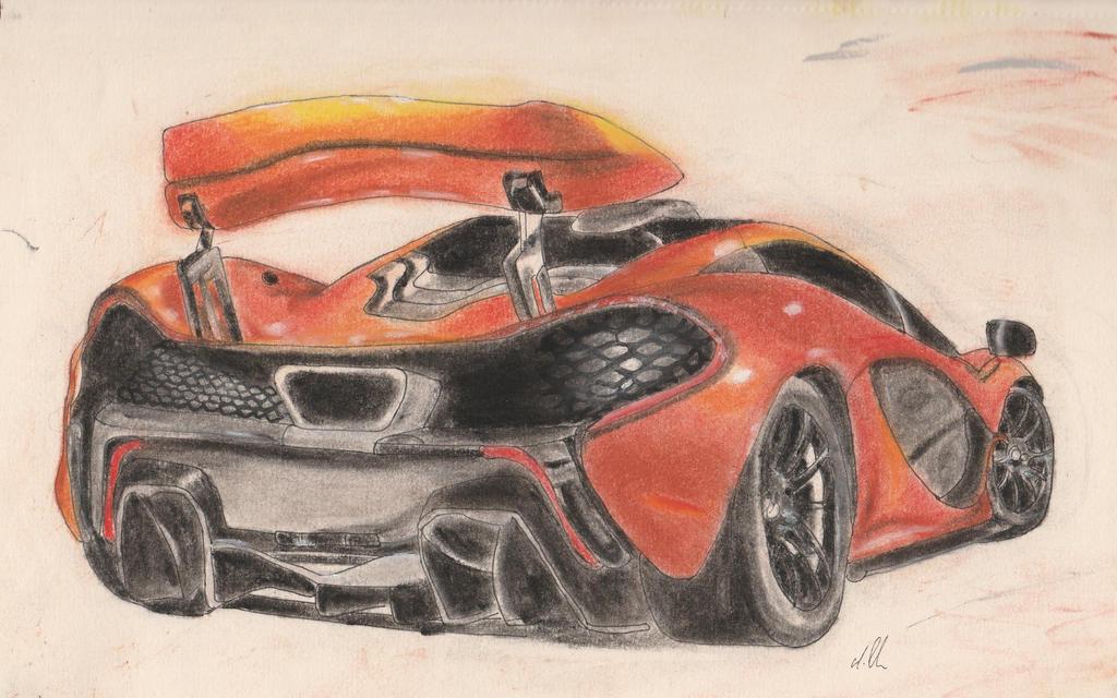 McLaren P1 by exatitude