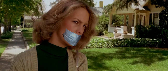 Laurie Strode Gagged