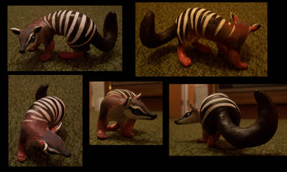 Numbat sculpture by hibbary