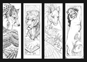 bookmarks by hibbary