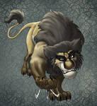 Wolverine lion