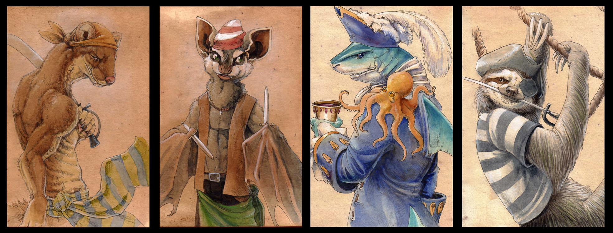 Фурри и осьминог 9 фотография