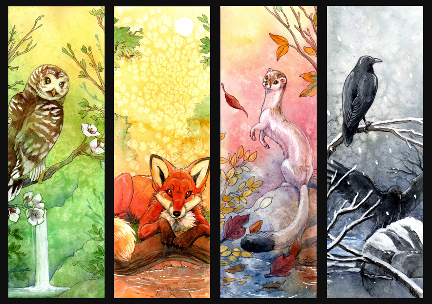 Four Seasons by hibbary